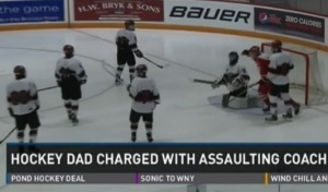 Goalie Dad Assault
